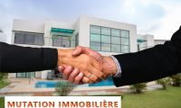 MUTATION IMMOBILIERE